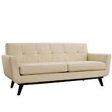 Bonded Leather Loveseat, 8805559