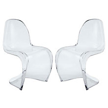 Clear Dining Side Chairs Set o, 8805562