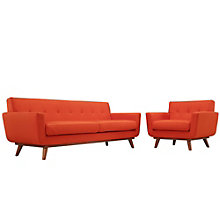 Armchair and Sofa Set of 2, 8805566