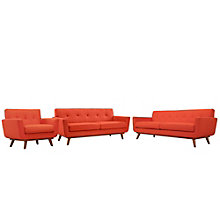 Sofa Loveseat and Armchair Set, 8805571