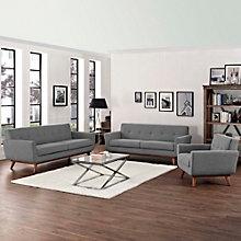 Sofa Loveseat and Armchair Set, 8805571