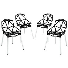 Dining Chair Set of 4, 8805581