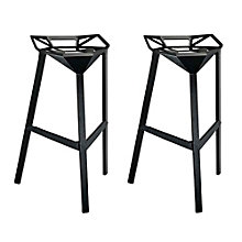 Stacking Bar Stool Set of 2, 8805584