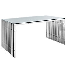 Stainless Steel Dining Table, 8805636