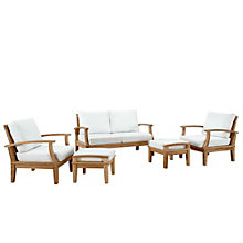 5 PC Outdoor Patio Teak Sofa S, 8805674