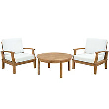 3 PC Outdoor Patio Teak Sofa S, 8805675