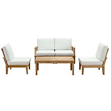5 PC Outdoor Patio Teak Sofa S, 8805676