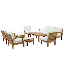 10 PC Outdoor Patio Teak Sofa , 8805679