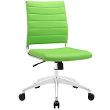 Armless Mid Back Office Chair, 8805707