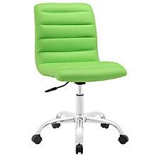 Armless Mid Back Office Chair, 8805714
