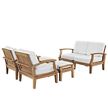 6 PC Outdoor Patio Teak Sofa S, 8805772
