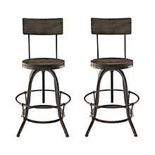 Bar Stool Set of 2, 8805776