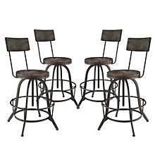 Bar Stool Set of 4, 8805780