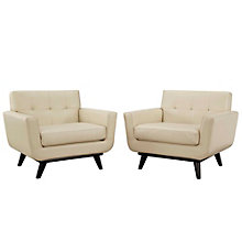 Leather Sofa Set, 8805824
