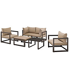 6 PC Outdoor Patio Sectional S, 8805864