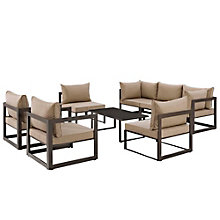 8 PC Outdoor Patio Sectional S, 8805866
