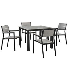 5 PC Outdoor Patio Dining Set, 8805884