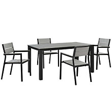 5 PC Outdoor Patio Dining Set, 8805886