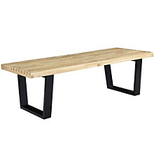 4' Wood Bench, 8805897