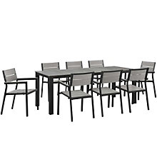 9 PC Outdoor Patio Dining Set, 8805892