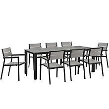 9 PC Outdoor Patio Dining Set, 8805892