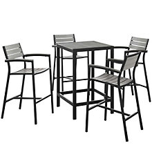 5 PC Outdoor Patio Bar Set, 8805894