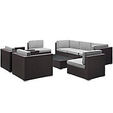 8 PC Outdoor Patio Sectional S, 8805953