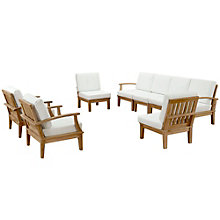 8 PC Outdoor Patio Teak Sofa S, 8805955