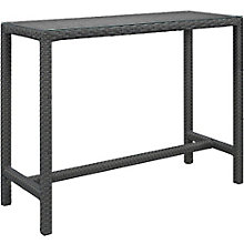 Large Outdoor Patio Bar Table, 8806086