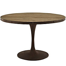 "48"" Round Wood Top Dining Tabl, 8806119"
