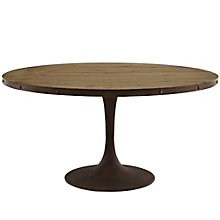 "60"" Round Wood Top Dining Tabl, 8806120"