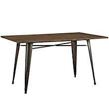 """59"""" Rectangle Wood Dining Tabl, 8806147"""