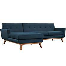 Left-Facing Sectional Sofa, 8806179