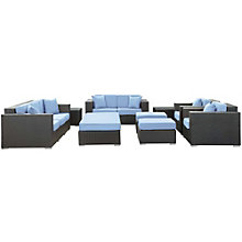 9 Piece Outdoor Patio Sofa Set, 8806511