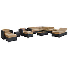 12 Piece Outdoor Patio Section, 8806532