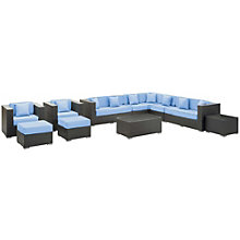 11 Piece Outdoor Patio Section, 8806533