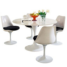5 Piece Fiberglass Dining Set, 8806581