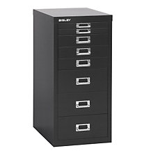 Bisley 8-Drawer Steel Multidrawer Storage Cabinet, EMI-EOSCMD298