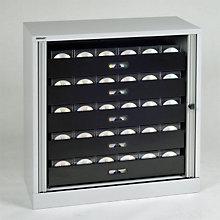 "Bisley Multimedia 5-Drawer Tambour Cabinet - 40"", EMI-TAMK1"