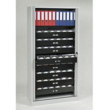 "Bisley Multimedia 8-Drawer Tambour Cabinet - 78"" , EMI-TAMK4"