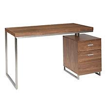 "Martos Single Pedestal Desk - 47""W, 8804859"