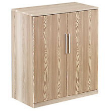 Storage Cabinet with Wood Doors in Warm Ash, 8804251