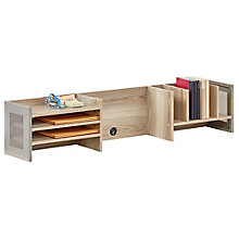 "Organizer Hutch - 60""W in Warm Ash, 8804256"