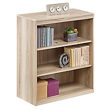 Three Shelf Bookcase in Warm Ash, 8804253