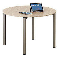 "Round Conference Table - 42""W in Warm Ash, 8804249"