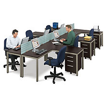 At Work Six Person Workstation, OFG-LD1222