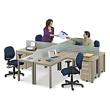 At Work Four Person Workstation, 8804624