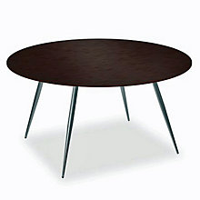 "Coffee Veneer Round Breakroom Table - 42"", ERC-TS30442CW"