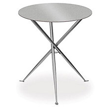 "Alumicast Round Cafe Height Table - 30"", ERC-TS31530AL"