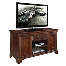 Belcourt Traditional TV Stand with Doors, ERE-01207
